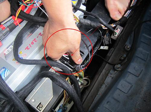 unplug the amp