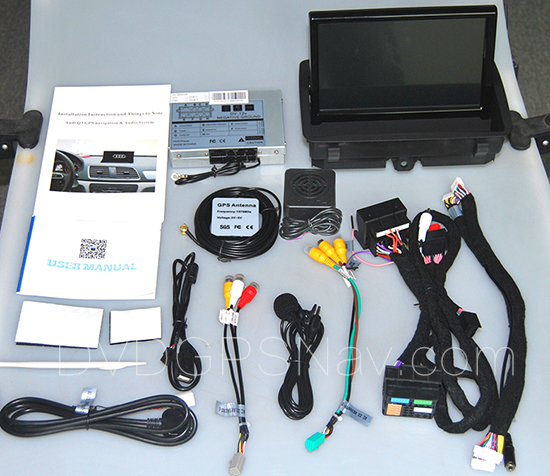 Installation instructions for Audi Q3 Navigation DVD GPS
