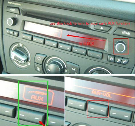 Solution for No Sound of BMW X1 GPS navigation unit