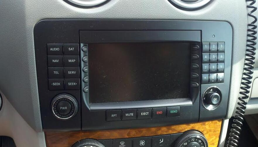 2007 ml350 factory head unit