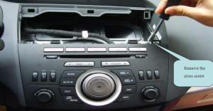 factory mazda 3 radio