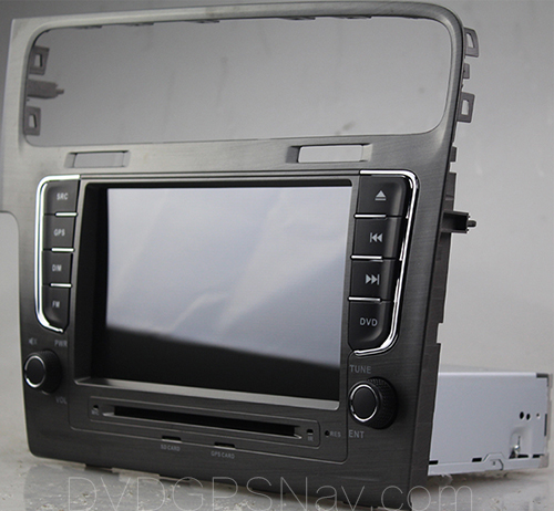 Installation Guide for Volkswagen Golf 7 DVD Player Radio