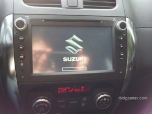 after installation sx4 radio with navigation