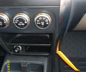 sx4 radio trim