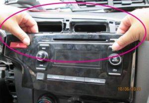 remove factory radio