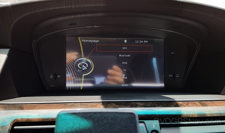 bmw-e60-navigation-head-unit