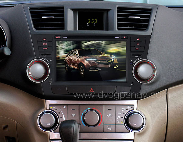 Installation affect Android Toyota Highlander navigation radio