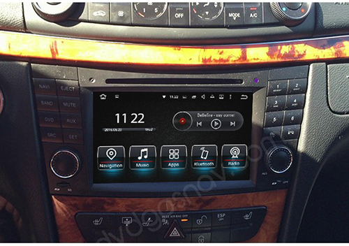 Android-Mercedes-Benz-W211-Head-Unit-Navigation