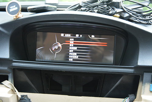 BMW E60 Android navigation head unit