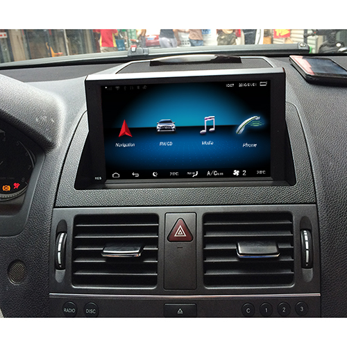 benz w204 head unit upgrade