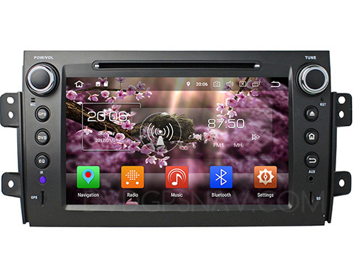 Suzuki SX4 stereo upgrade