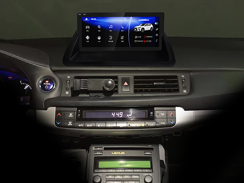 "10.25"" Lexus CT200h Android head unit"