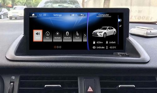 10.25 lexus ct200h head unit upgrade
