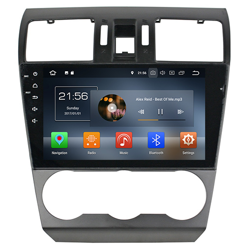 Subaru Forester Android Head Unit Stereo Upgrade With Navigation