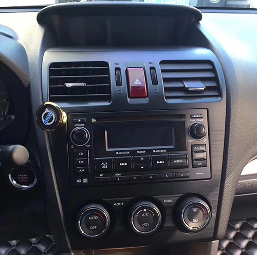 Subaru forester dash radio