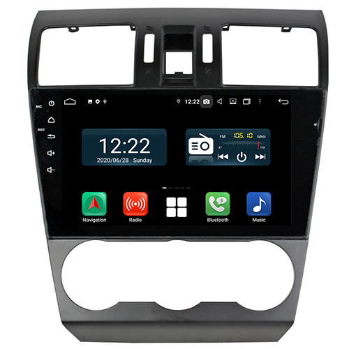 forester android 10 radio