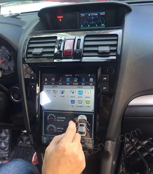 subaru forester tesla android screen