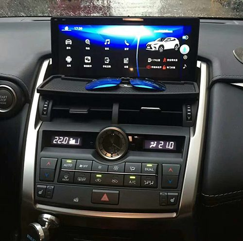 Installation 10.25 Android screen Lexus NX