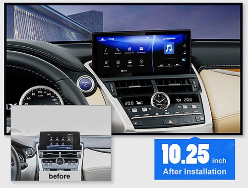 Lexus NX 200t 300h radio upgrade