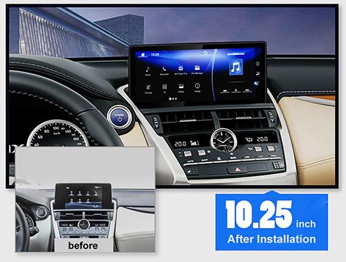 10 25 Lexus Nx 200t Nx 300h Radio Upgrade Wide Screen Replacement