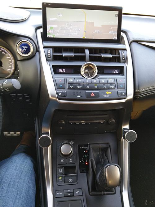 lexus nx aftermarket navigation
