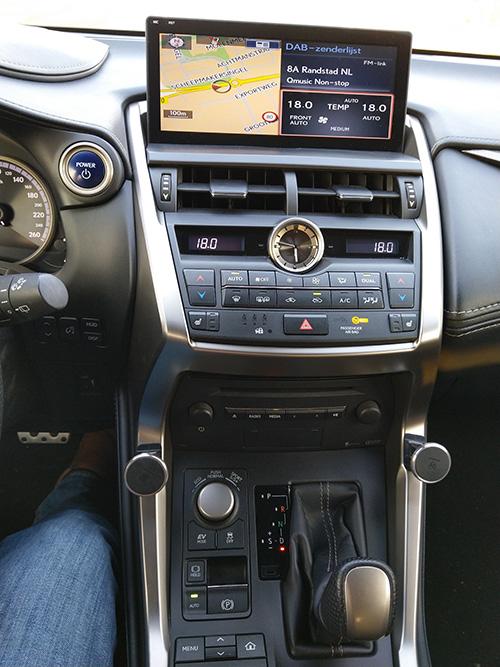 lexus nx navigation system