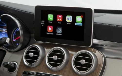 Apple carplay for Mercedes Benz