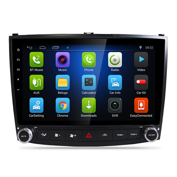 2006-2011 Lexus IS Android Head Unit