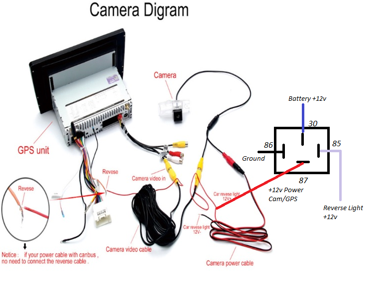 reverse camera relay diagram archives  professional blog
