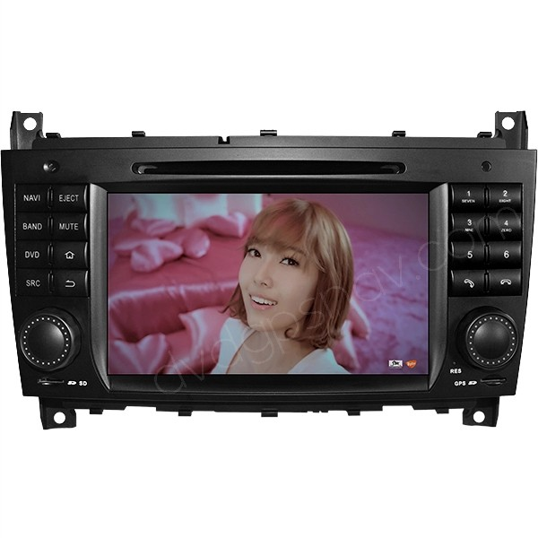 android head unit for w203
