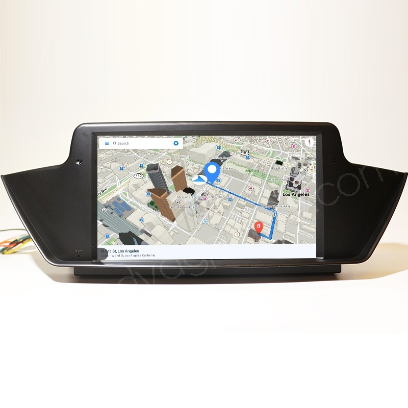 BMW X1 Android screen