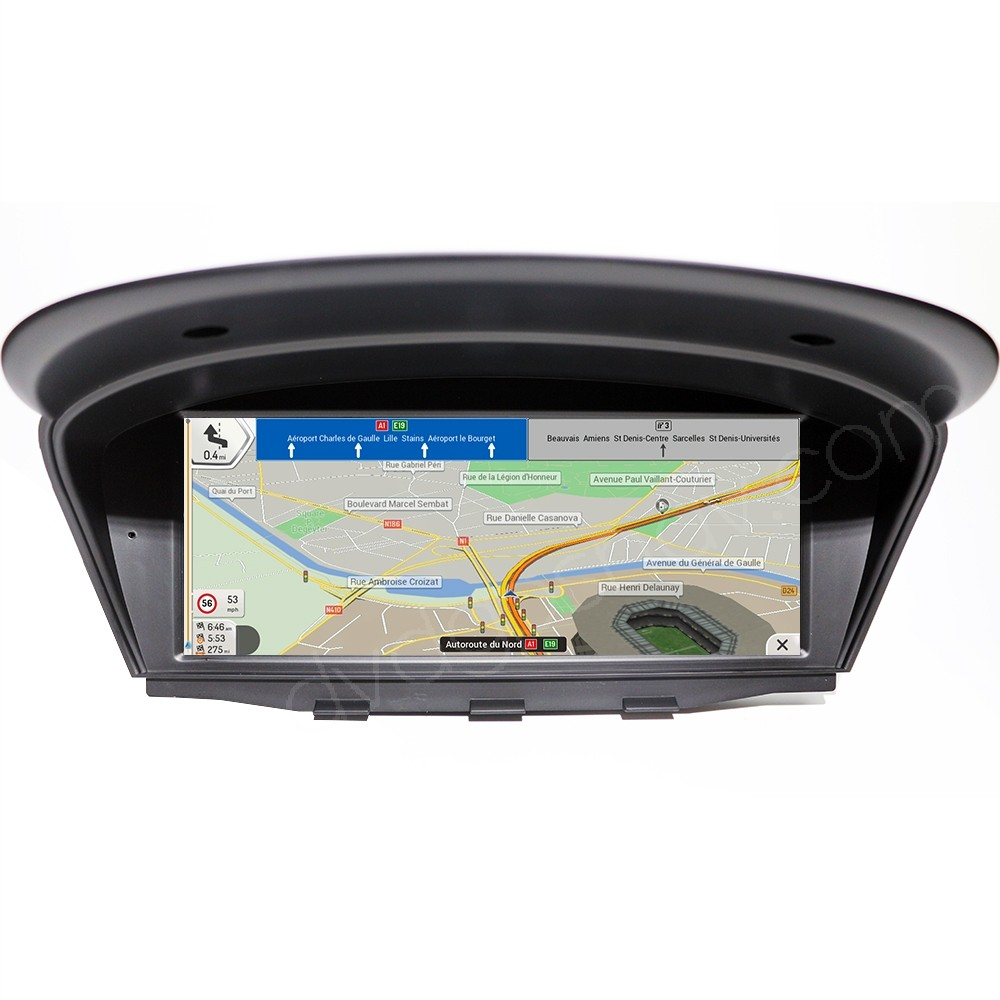 bmw e60 android navigation
