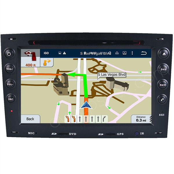 renault megane android gps