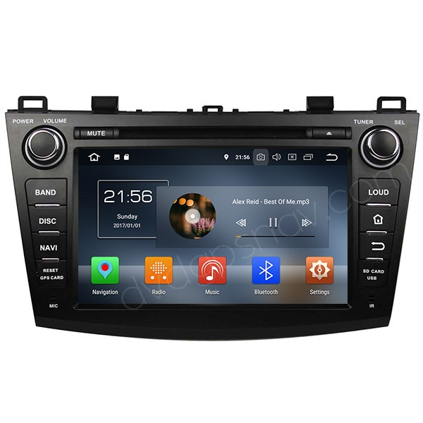 Android 8.0 Mazda 3 2010 2011 2012 2013 head unit