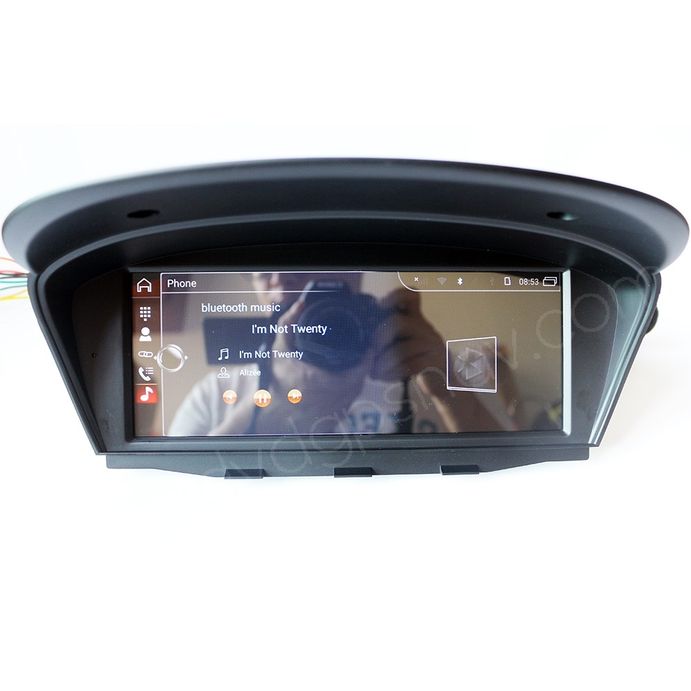 Aftermarket BMW E60 Android Head Unit GPS Navigation BMW E60