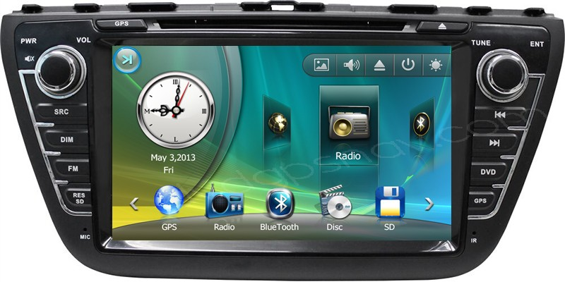 suzuki s-cross sx4 dvd player