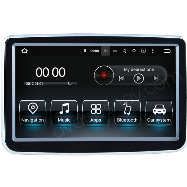 Mercedes A B Class Android navigation