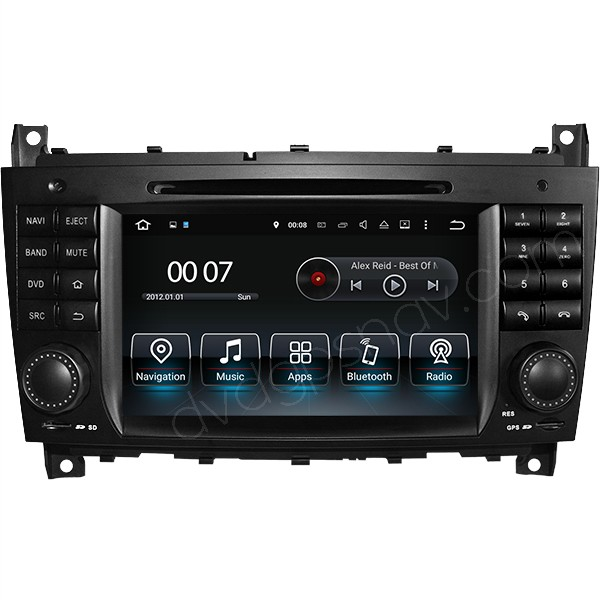 mercedes w203 android head unit