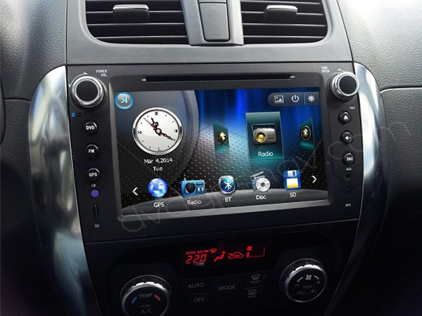 how to install suzuki sx4 navigation