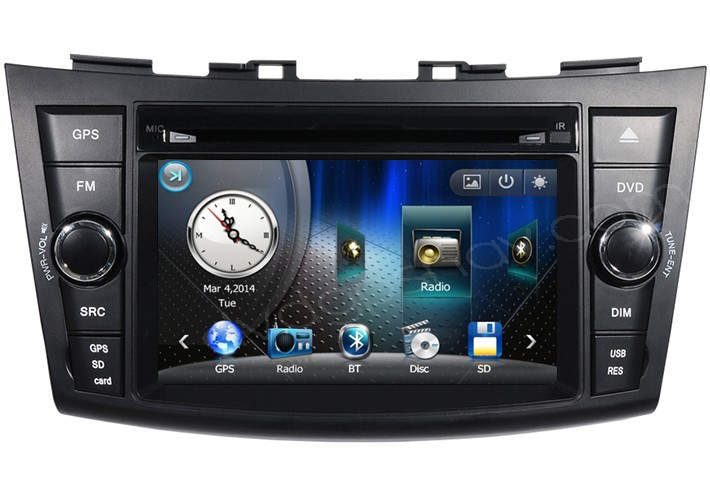 suzuki swift dvd player