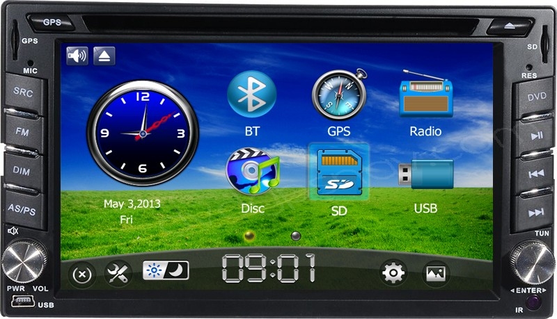 2 din dvd player