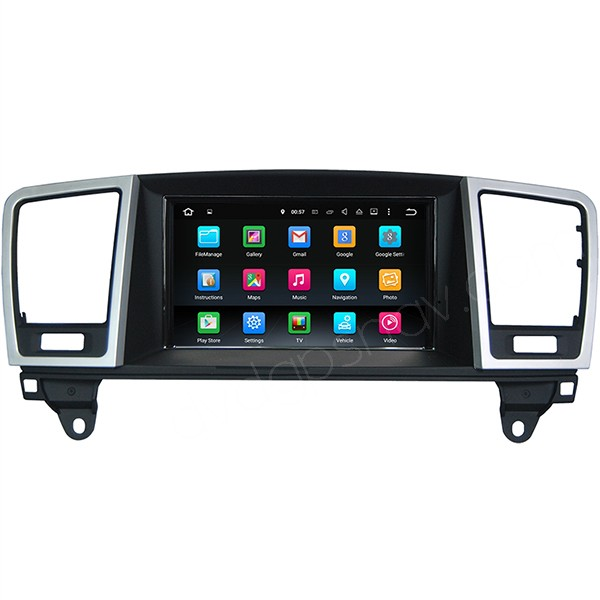 Android Mercedes Benz ML 350 400 550 Touch Screen GPS Navi Head unit