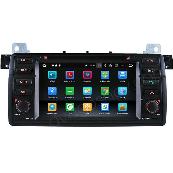 Android BMW E46 radio gps