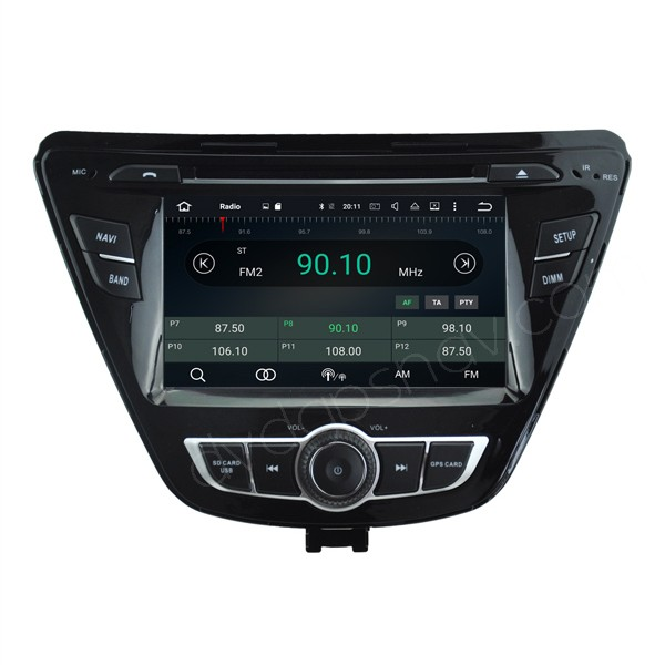 hyundai elantra head unit
