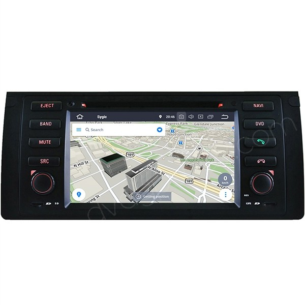 Android BMW X5 E53 navigation