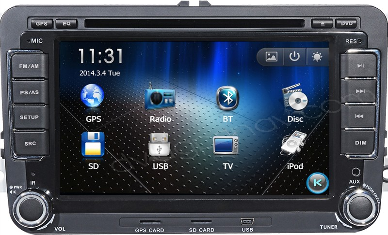 DVD GPS Navi for VW Magotan/Bora/Golf