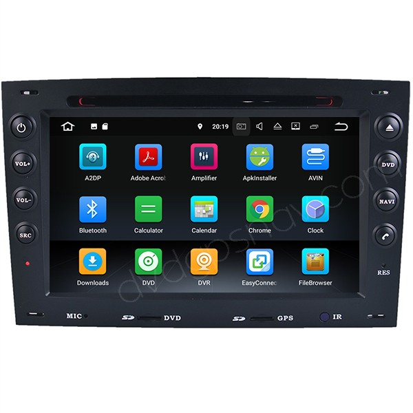 Android head unit Renault megane