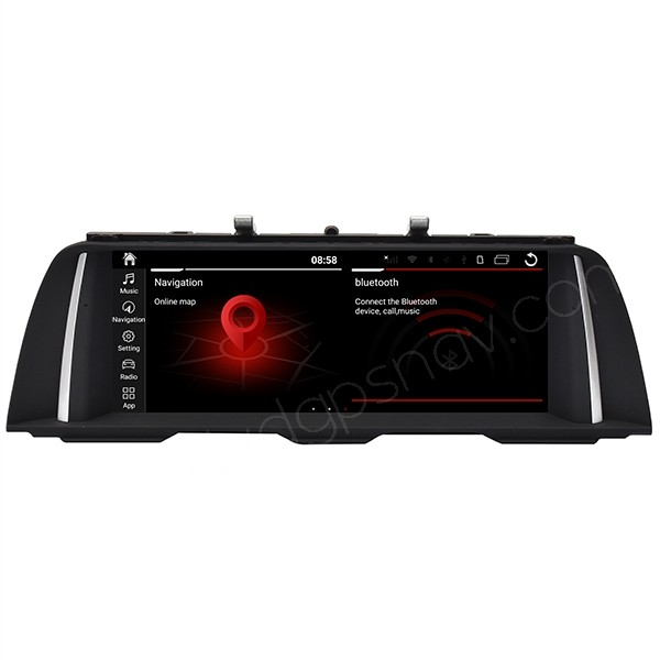 BMW F10 Android screen