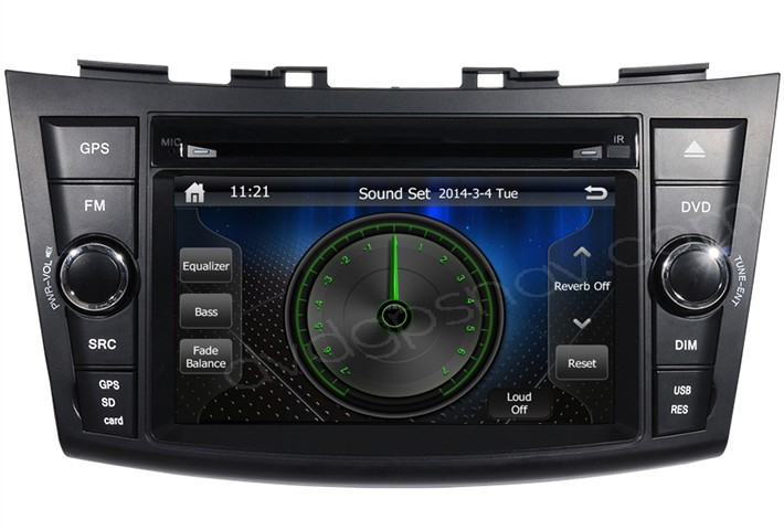 2012 swift dvd navigation