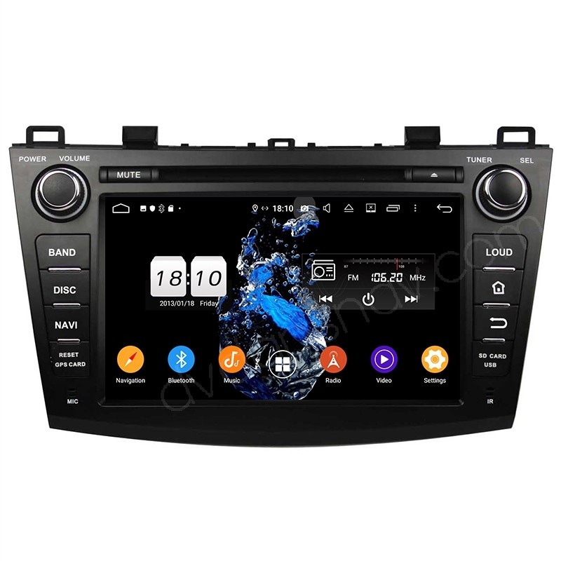 mazda3 android radio